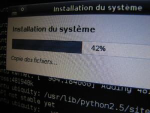eeexubuntu install